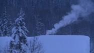 Zima na syberyjskiej wsi