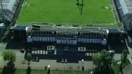 Wejście na Stadion Miejski w Krakowie