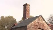 Budynek z czerwonej cegły