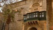 Pałac Wielkich Mistrzów na Malcie - balkon