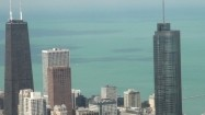 Panorama Chicago - widok z budynku Willis Tower