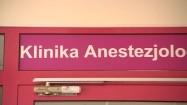 Klinika Anestezjologii i Intensywnej Terapii - wejście
