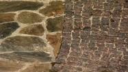 Ścieżka z kamienia i kostki