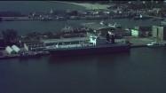 Statek towarowy w gdyńskim porcie