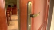 Drzwi do sali rozpraw