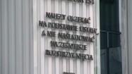 Paremie prawnicze na kolumnadzie Sądu Najwyższego w Warszawie