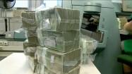 Zapakowane banknoty stuzłotowe