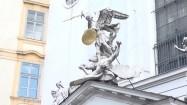 Kościół św. Michała w Wiedniu - rzeźba anioła