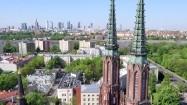 Panorama Warszawy od strony praskiej