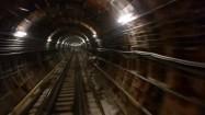 Tunel w moskiewskim metrze