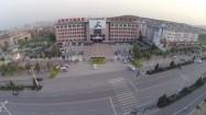 Chiny - gmach szkoły kung-fu