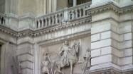 Elewacja ratusza w Wiedniu