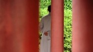 Klasztor Shaolin - mnich i Las Pagód