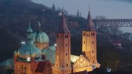 Katedra na skarpie wiślanej w Płocku