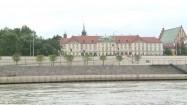 Zamek Królewski  i bulwary wiślane w Warszawie
