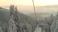 Wjazd kolejką na Śnieżkę