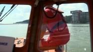 Ćwiczenia ratowników Mazurskiego Ochotniczego Pogotowia Ratunkowego