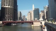 Most nad Chicago River