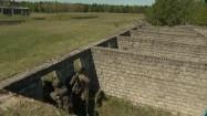 Żołnierze w bunkrze