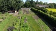 Przypałacowy ogródek w Nieborowie