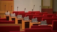 Sala posiedzeń na ratuszu w Pradze