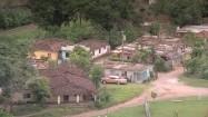 Zabudowania w kubańskiej wiosce
