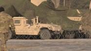 Siatka maskująca na pojazdach wojskowych