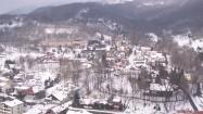 Krajobraz miejscowości Wisła