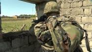 Żołnierz w bunkrze