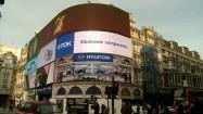 Piccadilly Circus w Londynie