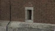 Bazylika Bożego Ciała w Krakowie - ściana z oknem