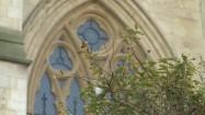 Witraż budynku All Souls College w Oksfordzie