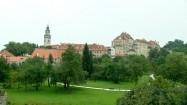 Czeski Krumlov - park pod zamkiem