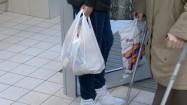 Klientka z zakupami