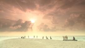 Zachód słońca na Malediwach